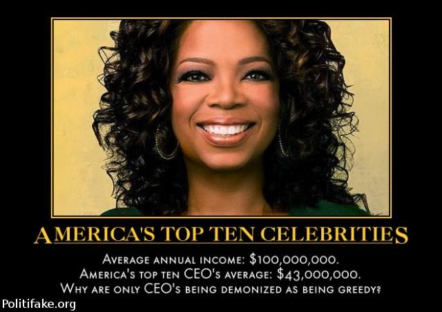 celebrities america