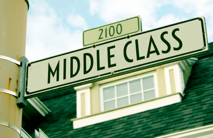middle class American Dream in trouble