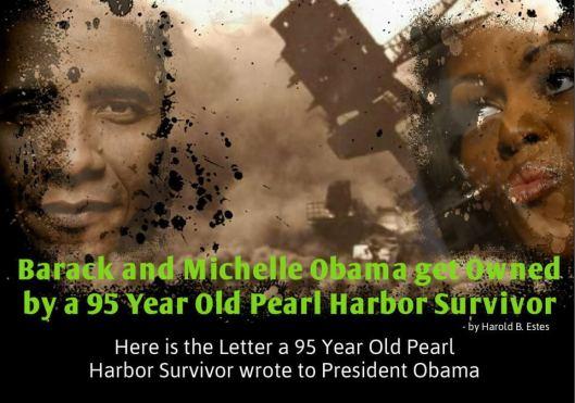 95 yr old VET calls out Obama