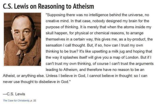 CSLewis on Atheism