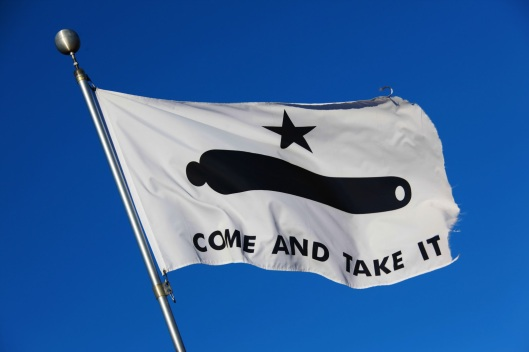 """Official """"COME & TAKE IT"""" Flag"""
