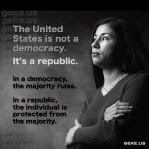 Democracy v Republic
