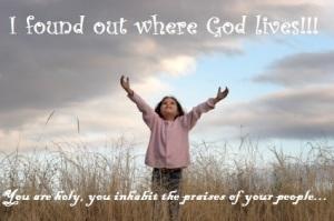 God lives