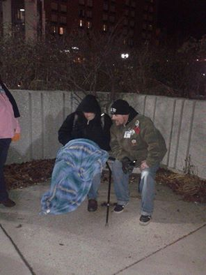 Building a relationship with the homeless is what I do... friendship is not a service that shelters offer but us angels make it a point to be there for our brothers and sisters!! The is someone's father,brother, son and at some point in there life they were loved.. We bringing that love back one person at a time!!