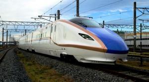 shiny new train