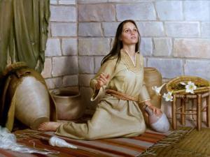 Annunciation to Mary by Joseph Brickey